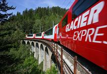 Montanhas Suíças e Glacier Express