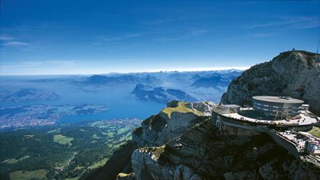 Picos Suíços e Mount Pilatus