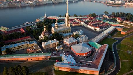 Capitais Russas - São Petersburgo e Moscou