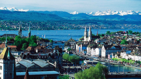 Zurique e Alpes Suíços