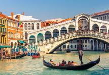 Veneza a Roma com Costa Amalfitana e Sicília
