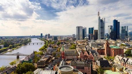 Viena a Frankfurt