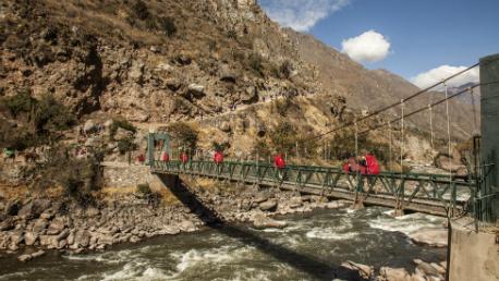 Caminho Inca para Machu Picchu