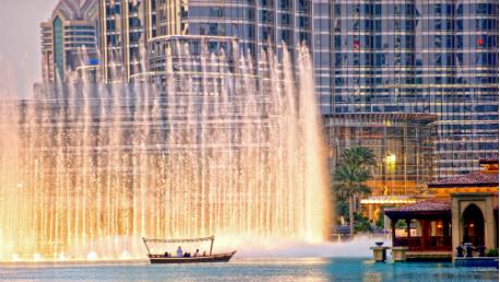 Dubai e Resort no Deserto